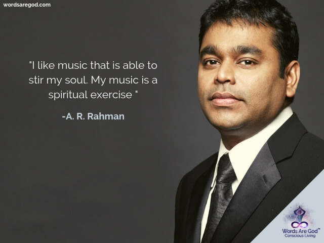 A. R. Rahman music Quotes