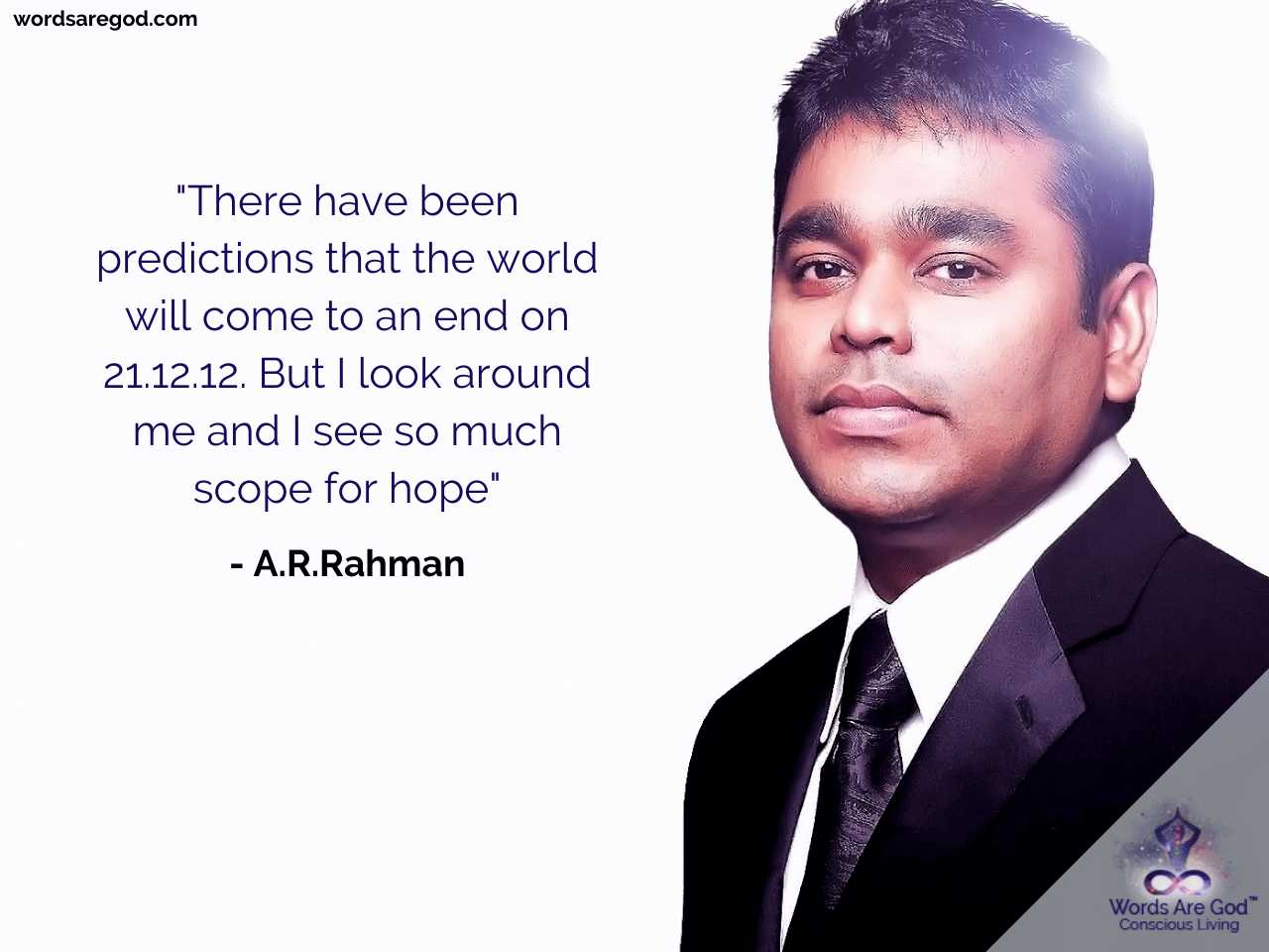 A.R.Rahman Music Quote