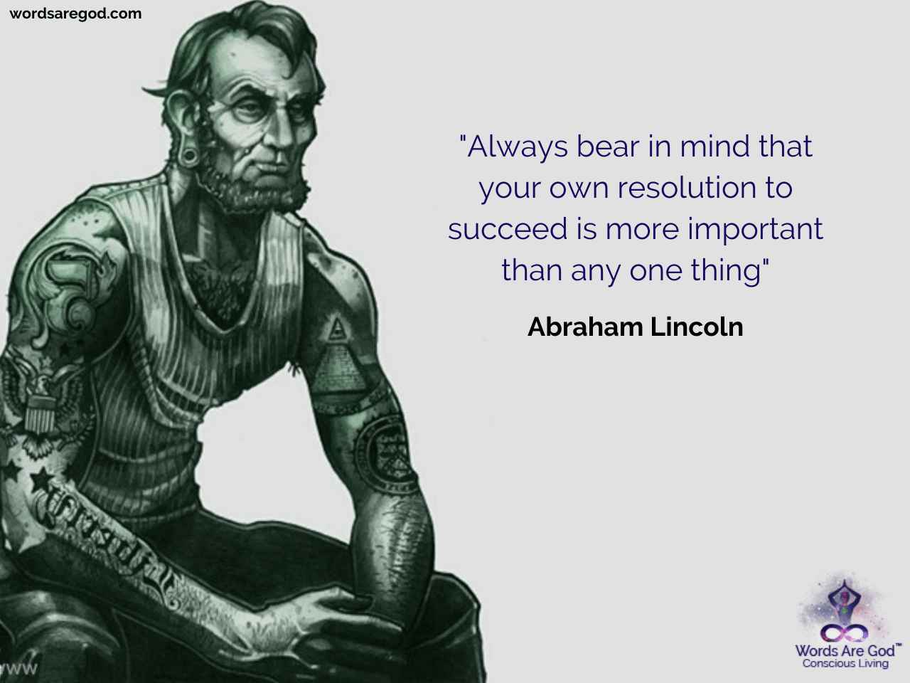 Abraham Lincoln Motivational Quote