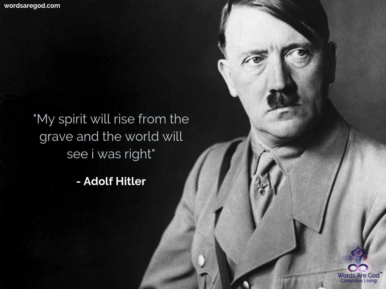Adolf Hitler Motivational Quote