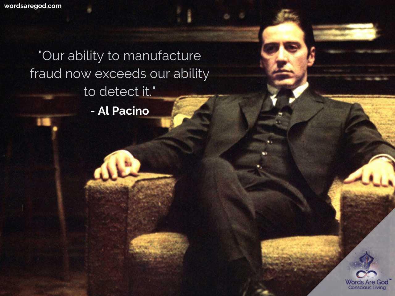 Al pacino Best Quotes