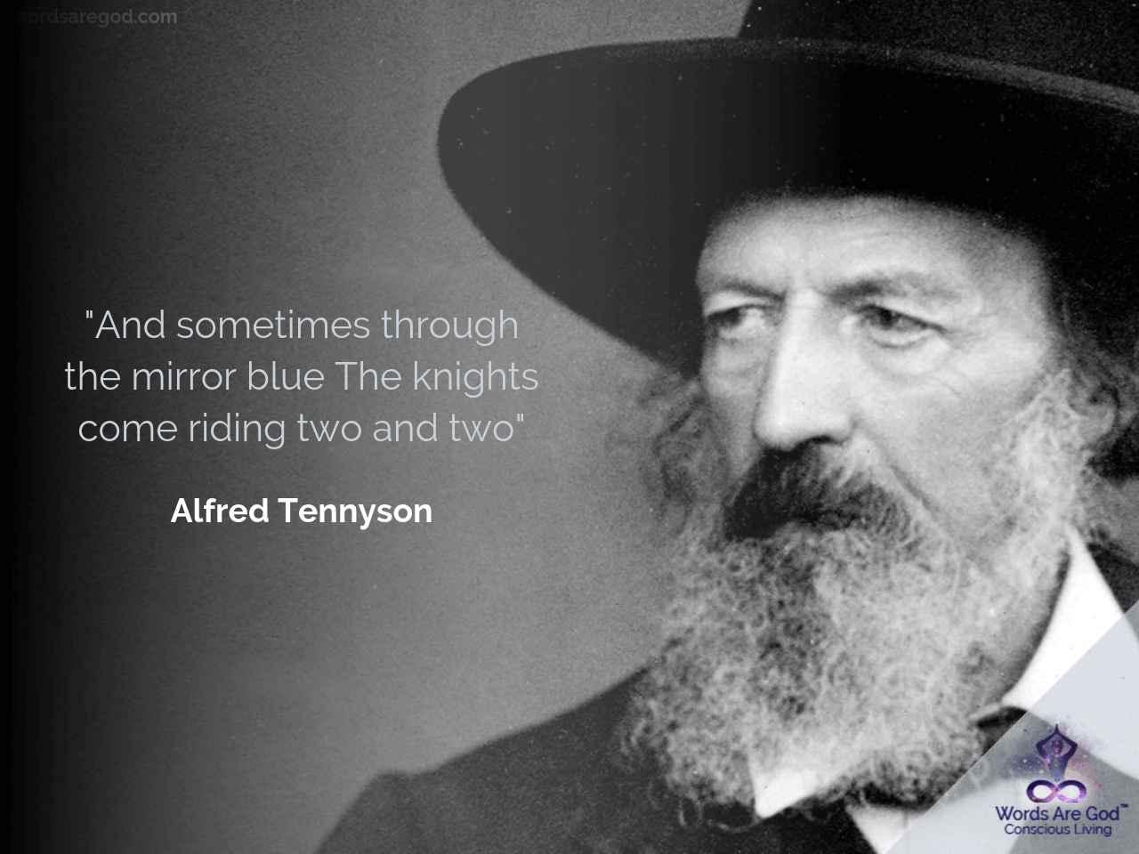 Alfred Tennyson  Life Quote
