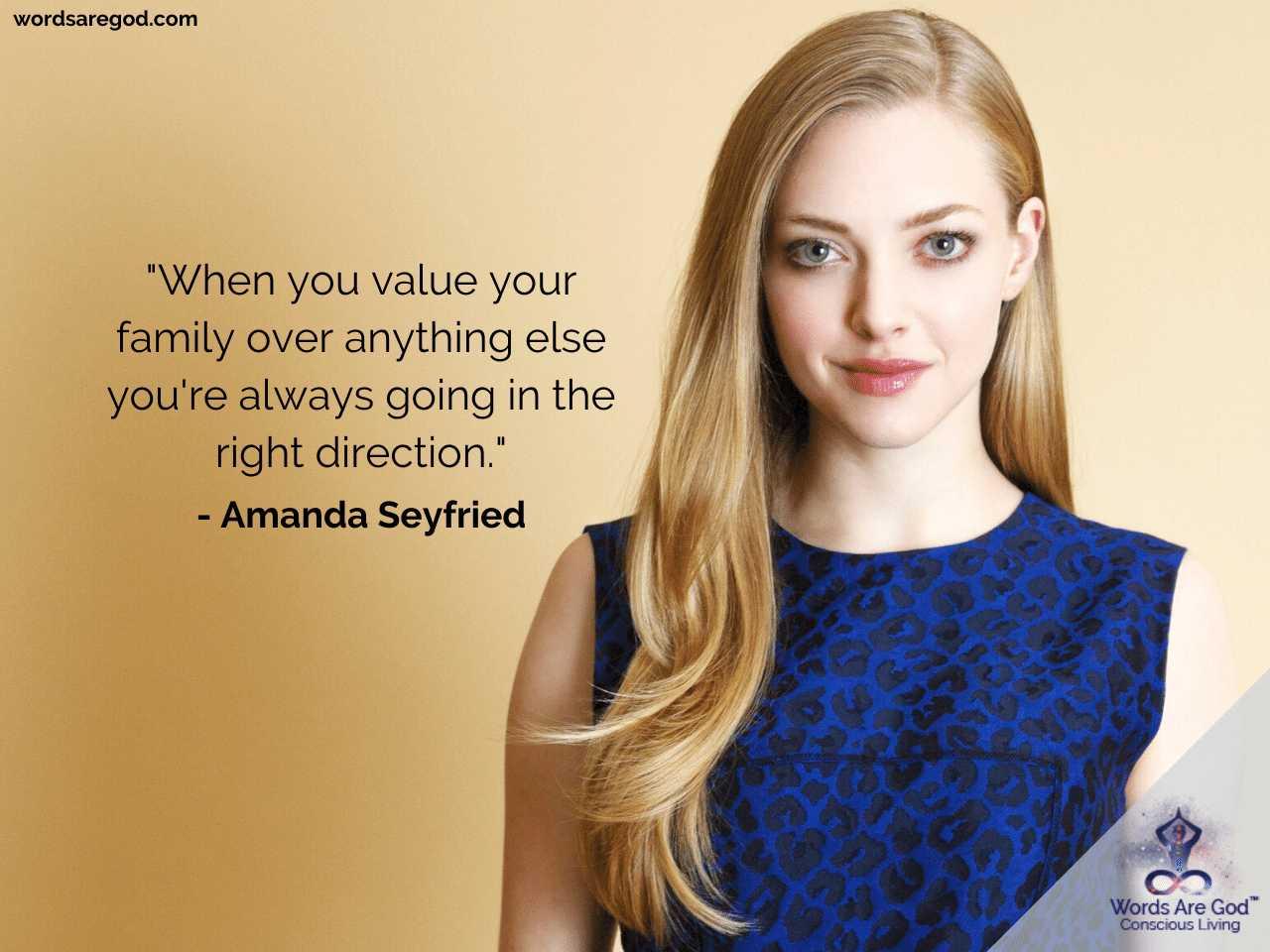 Amanda Seyfried Best Quotes by Amanda Seyfried