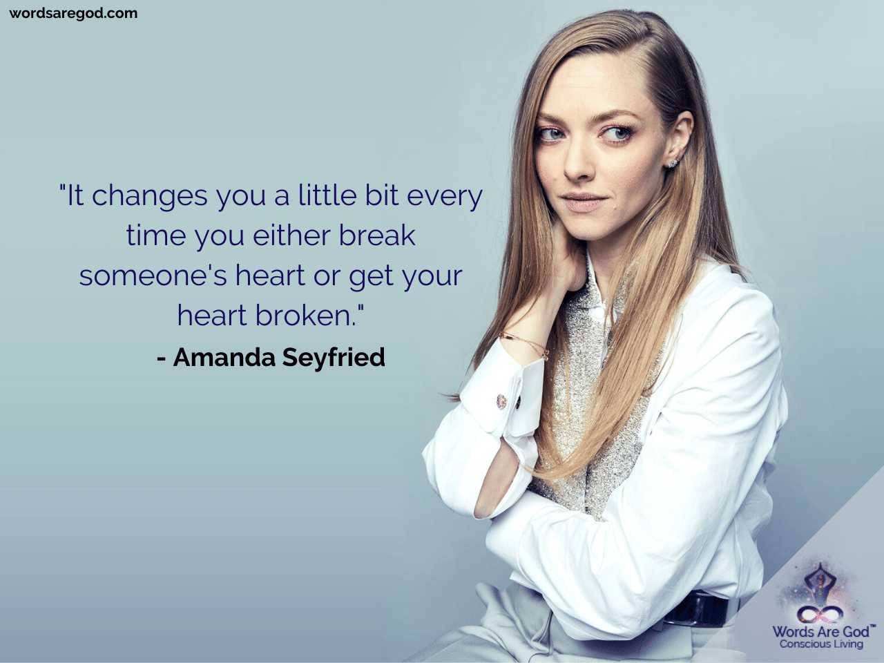 Amanda Seyfried Life Quotes