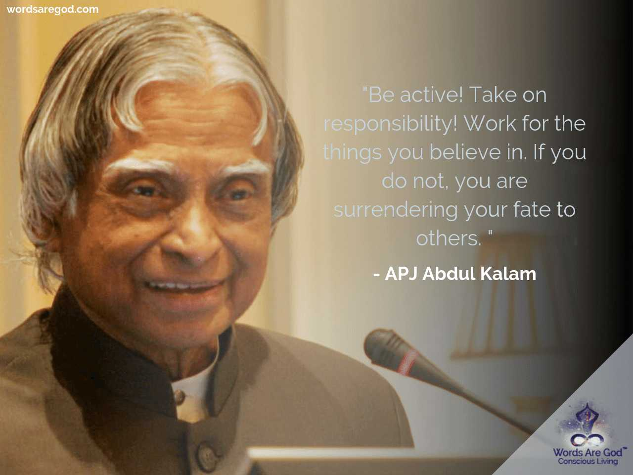 APJ Abdul Kalam Motivational Quote