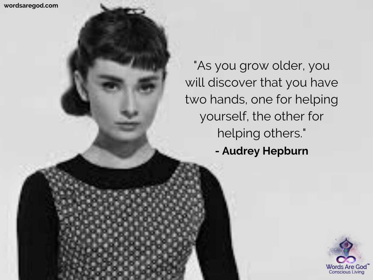 Audrey Hepburn Best Quotes by Audrey Hepburn