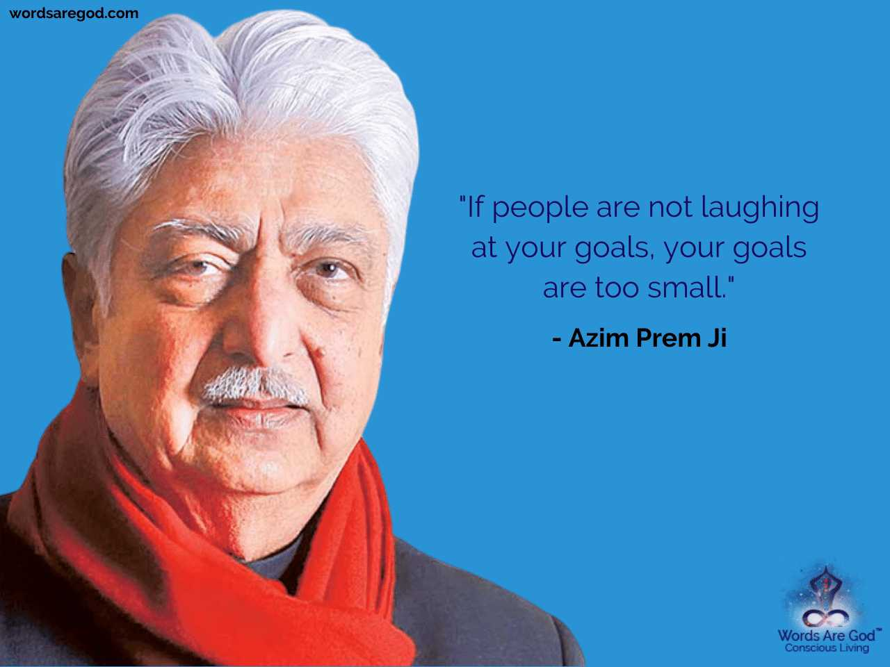 Azim Prem Ji Motivational Quote