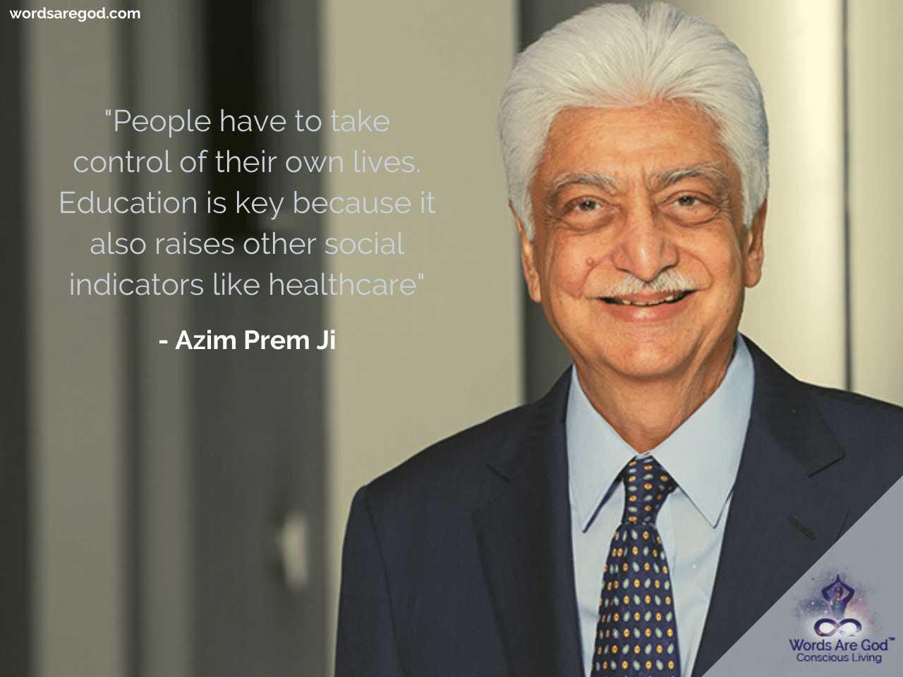 Azim Prem Ji Best Quote