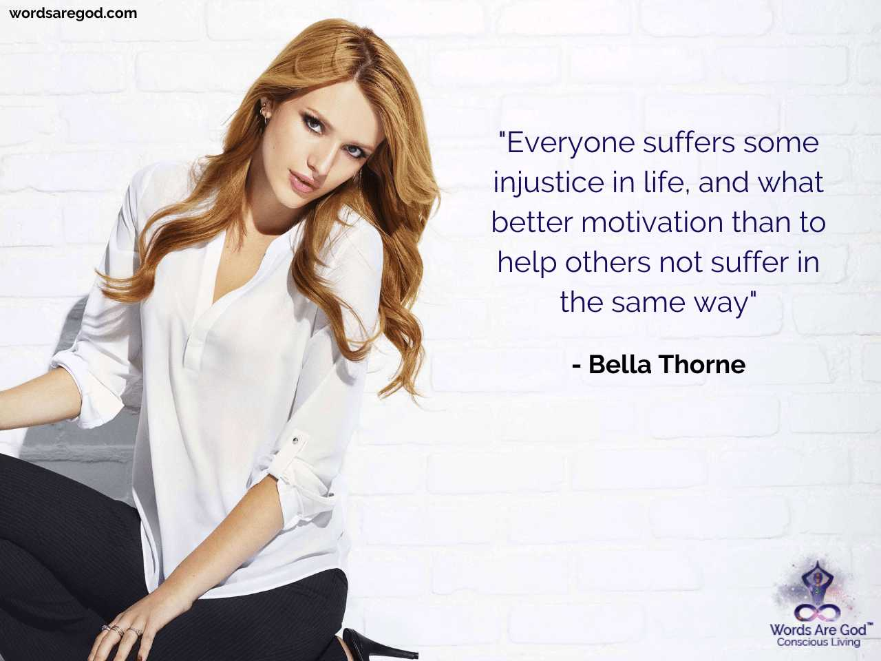 Bella Thorne Best Quote