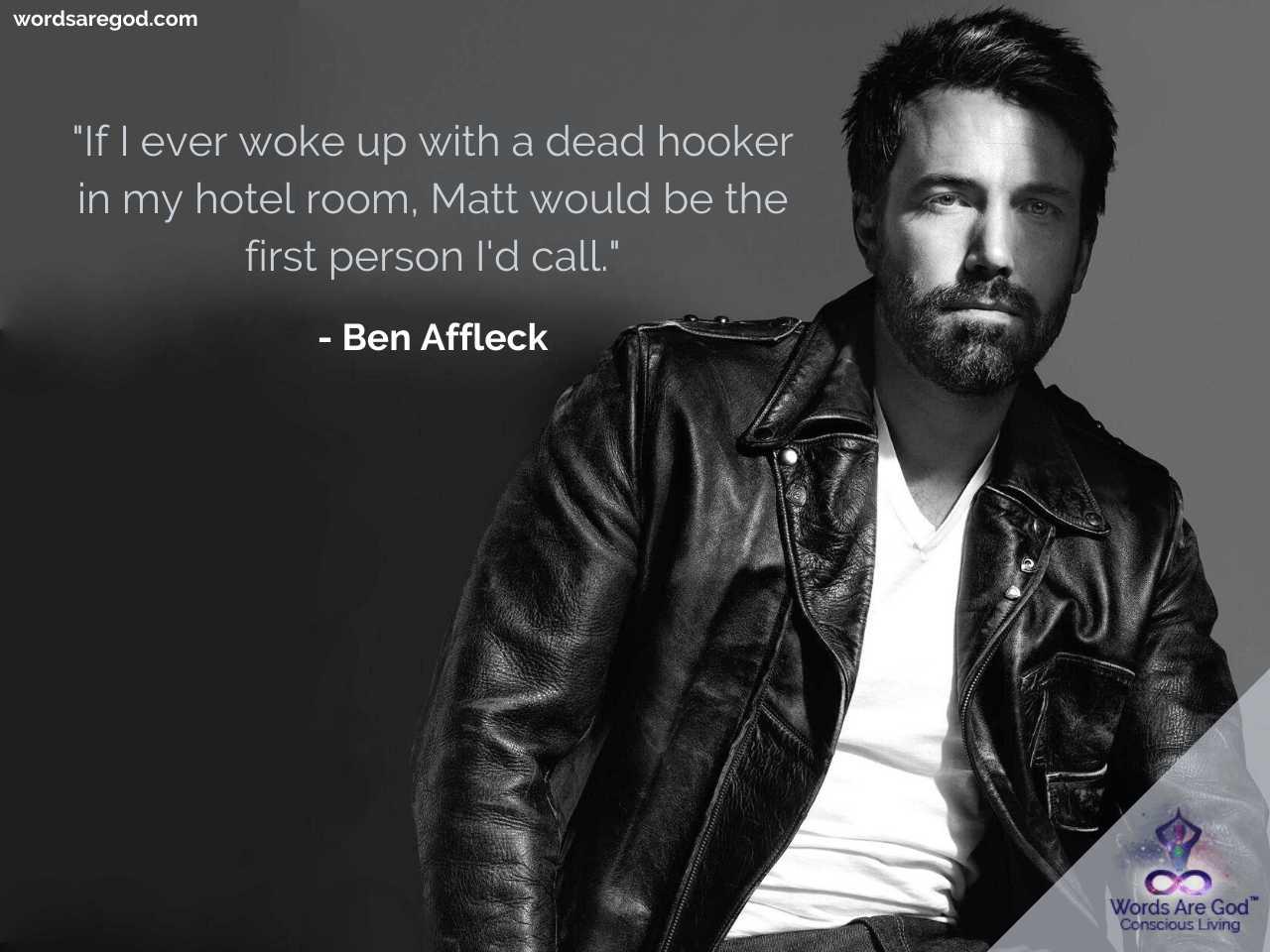Ben Affleck Best Quotes