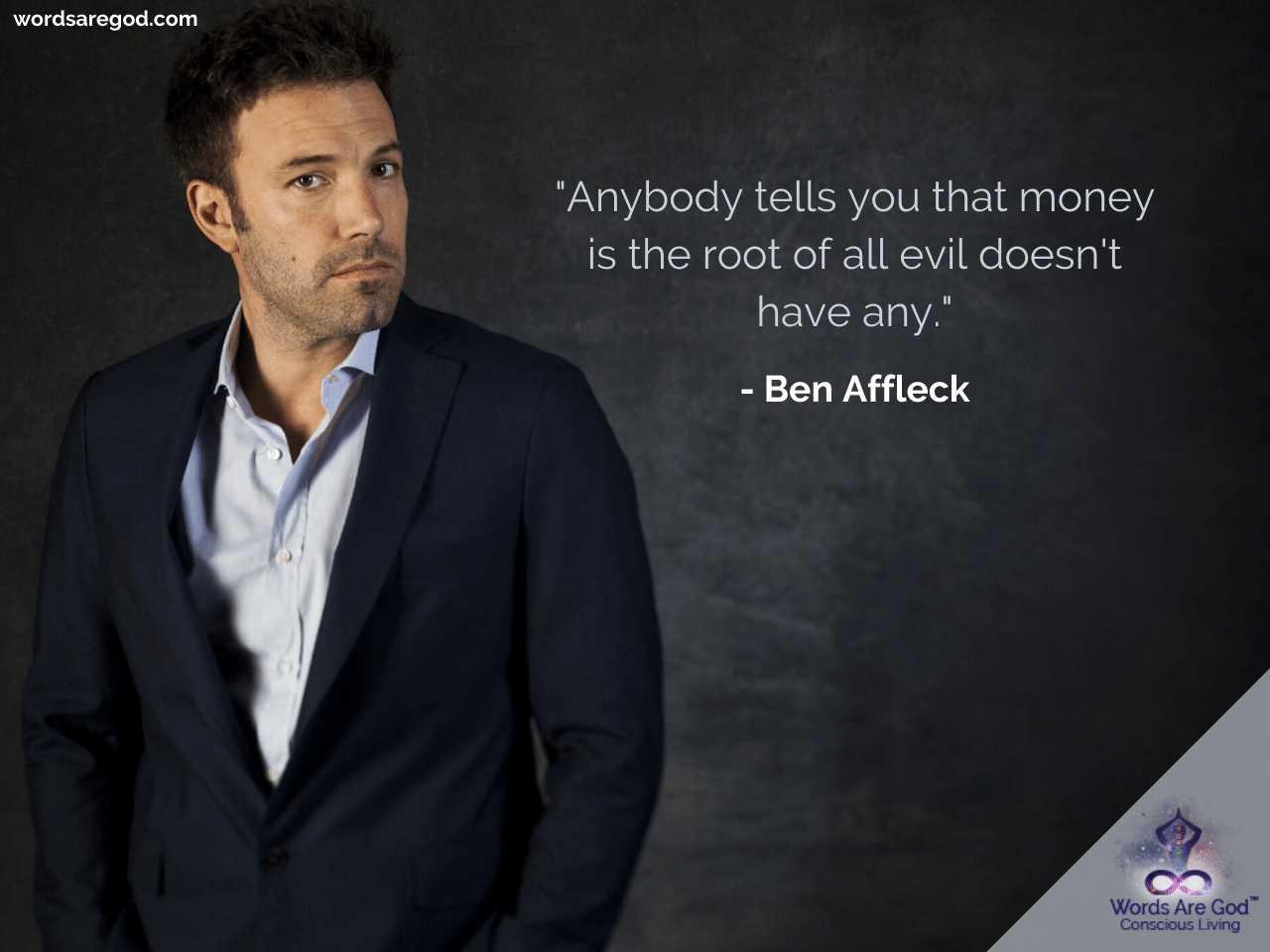 Ben Affleck Inspirational Quotes