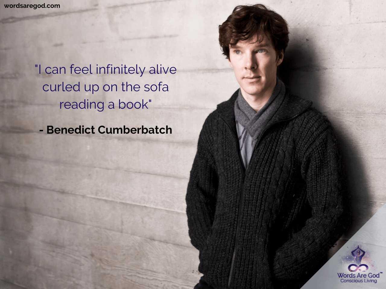 Benedict Cumberbatch Best Quote