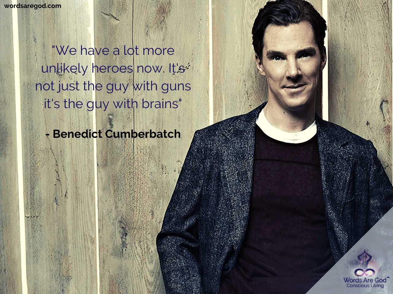 Benedict Cumberbatch Motivational Quote
