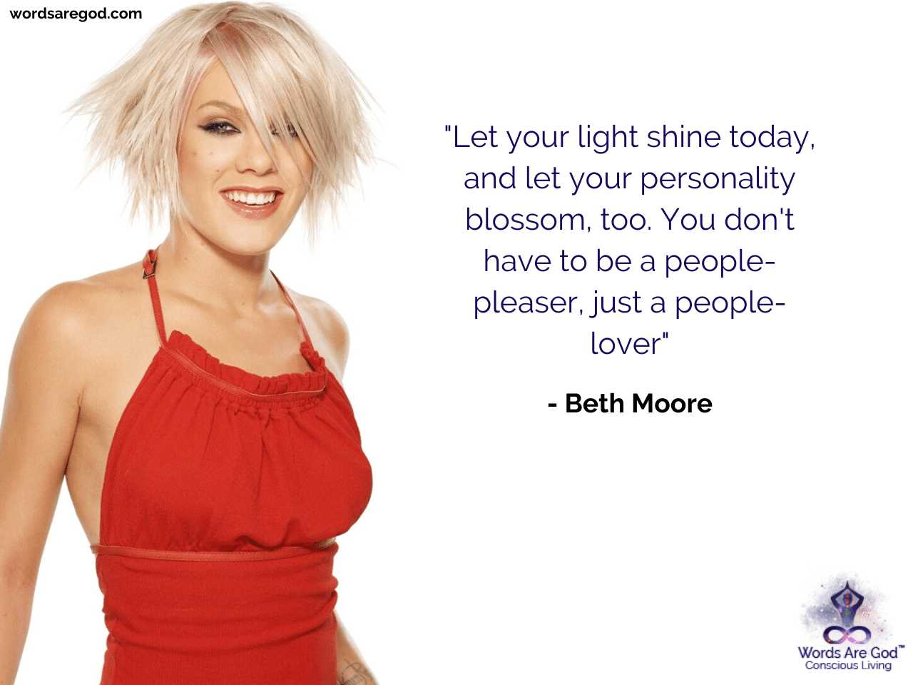 Beth Moore Inspirational Quote