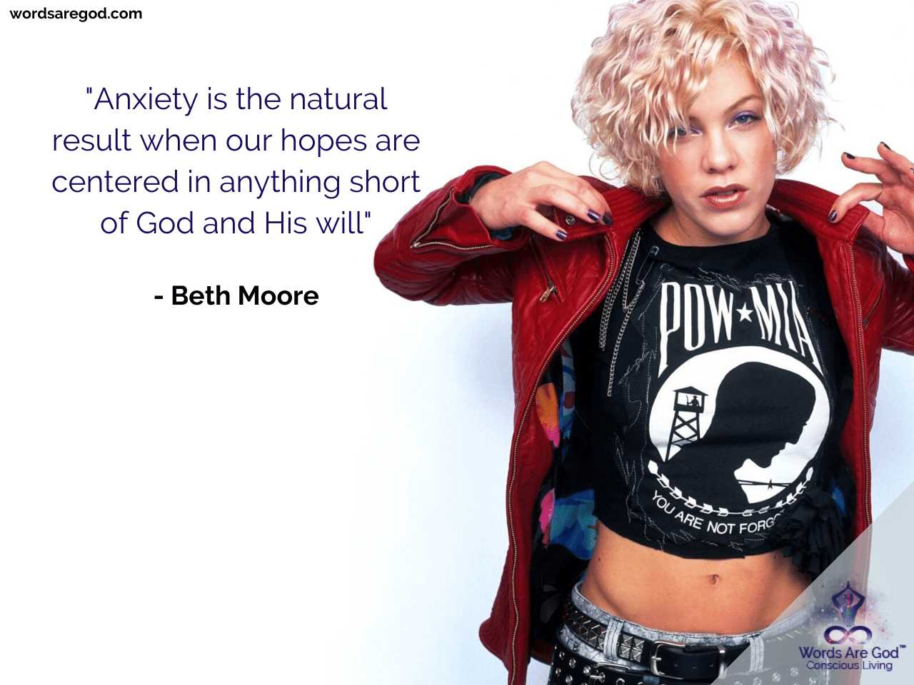 Beth Moore Life Quote