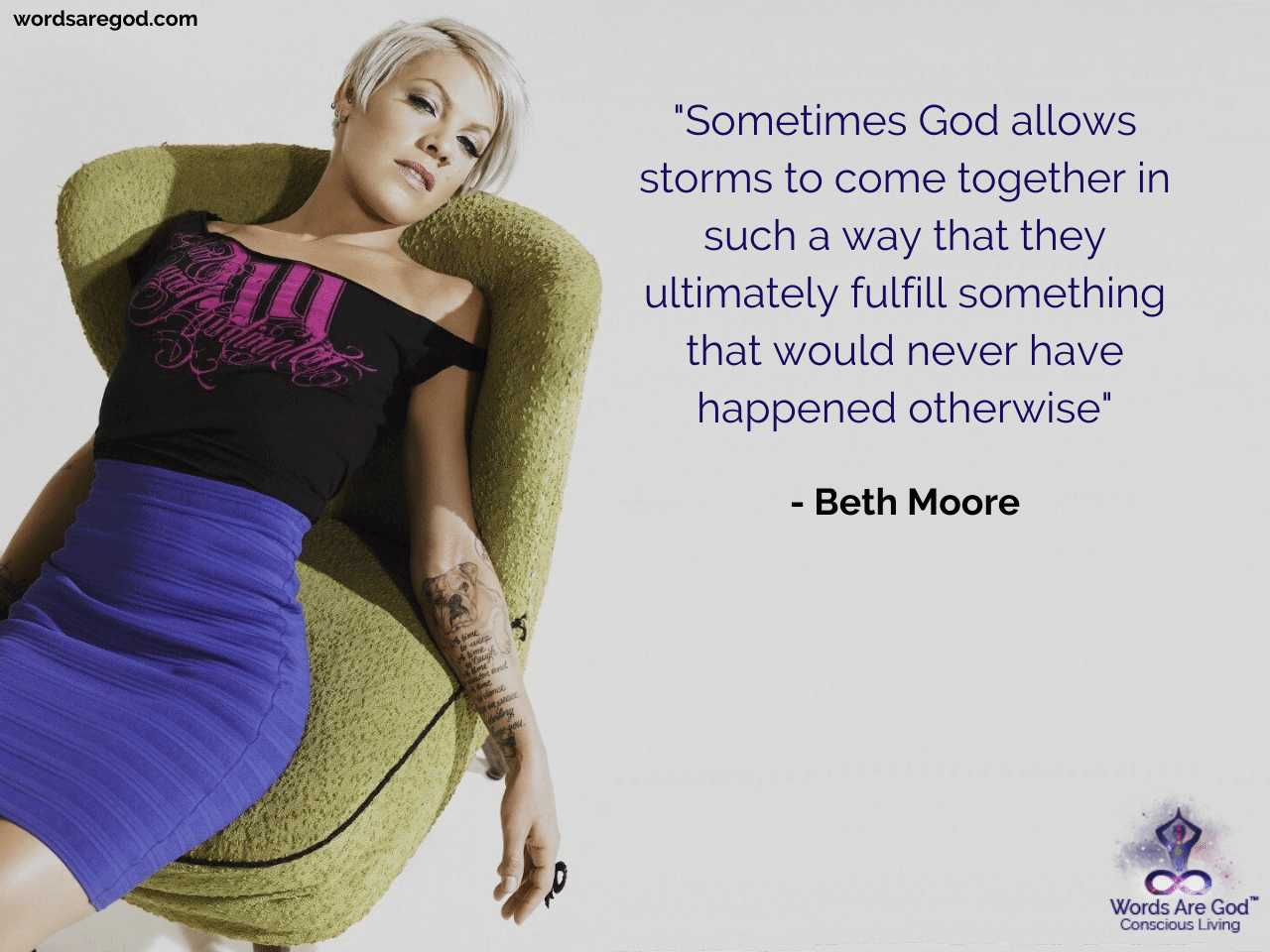 Beth Moore Motivational Quote by Beth Moore