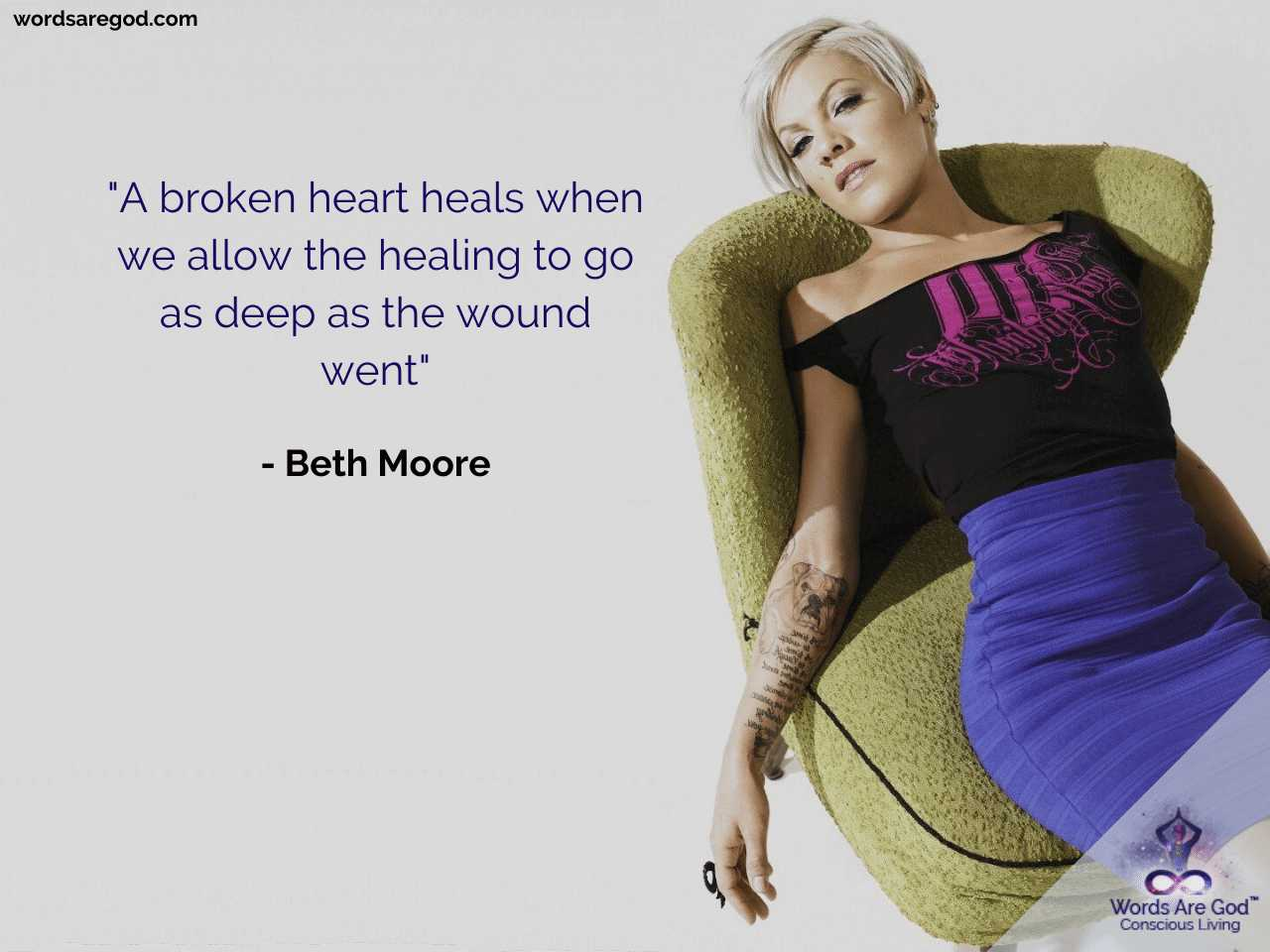 Beth Moore Motivational Quote