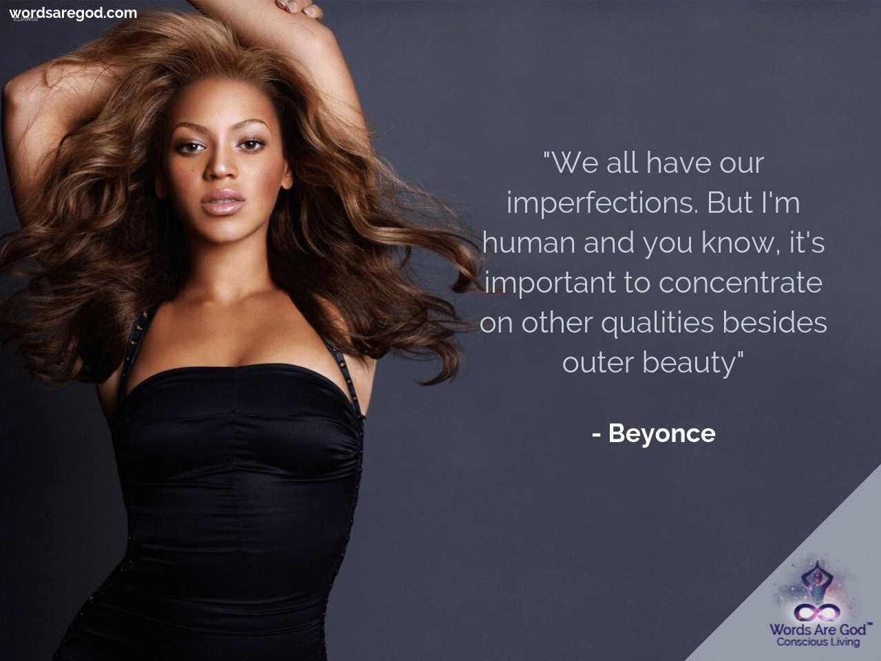 Beyonce Motivational Quote by Beyonce