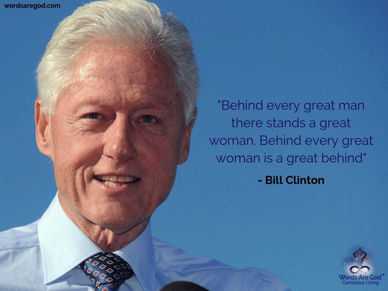 Bill Clinton Inspirational quote