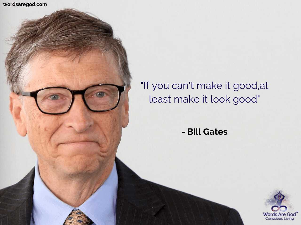 Bill Gates Inspirational quote by Bill Gates