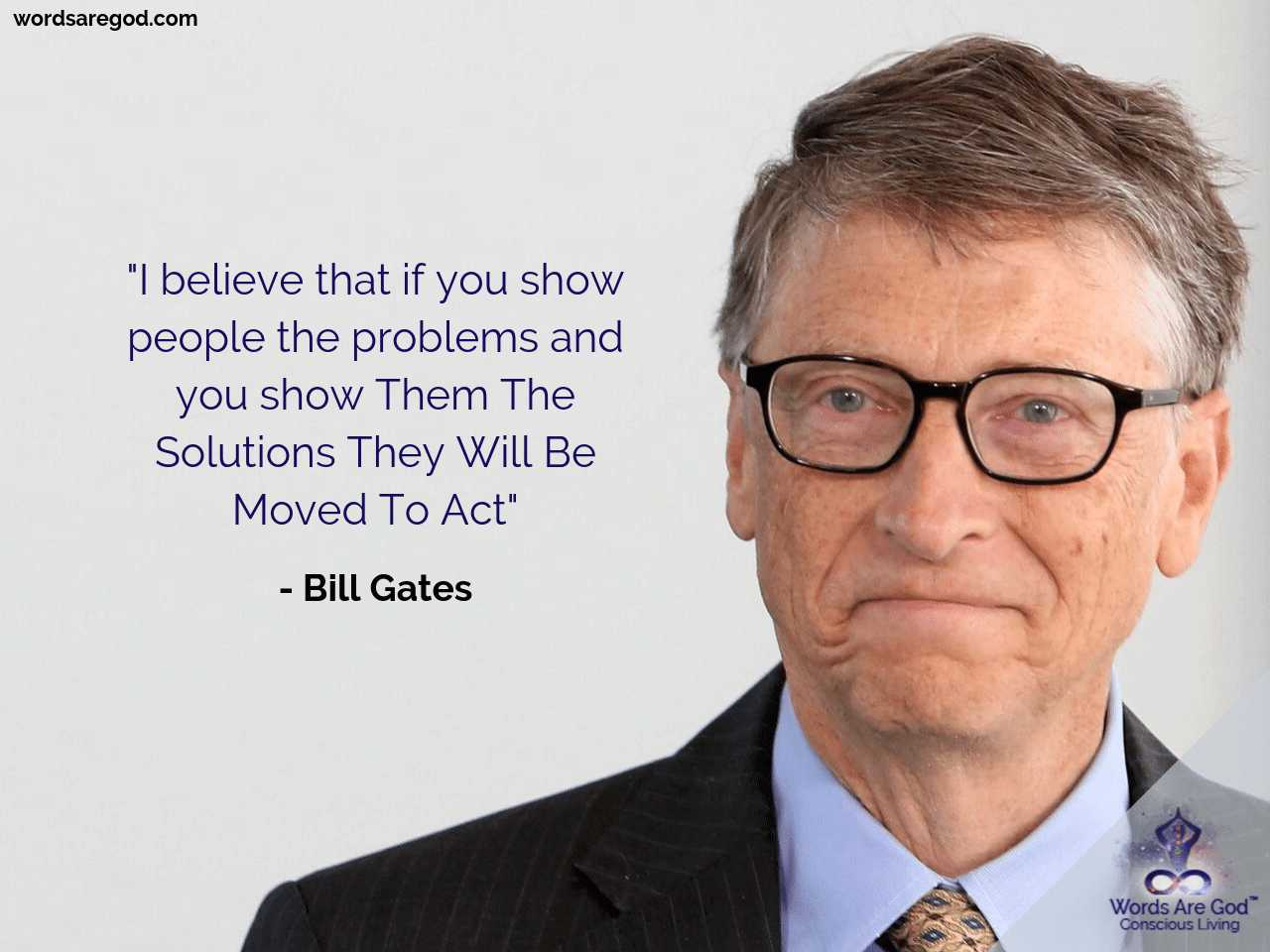 Bill Gates Inspirational quote