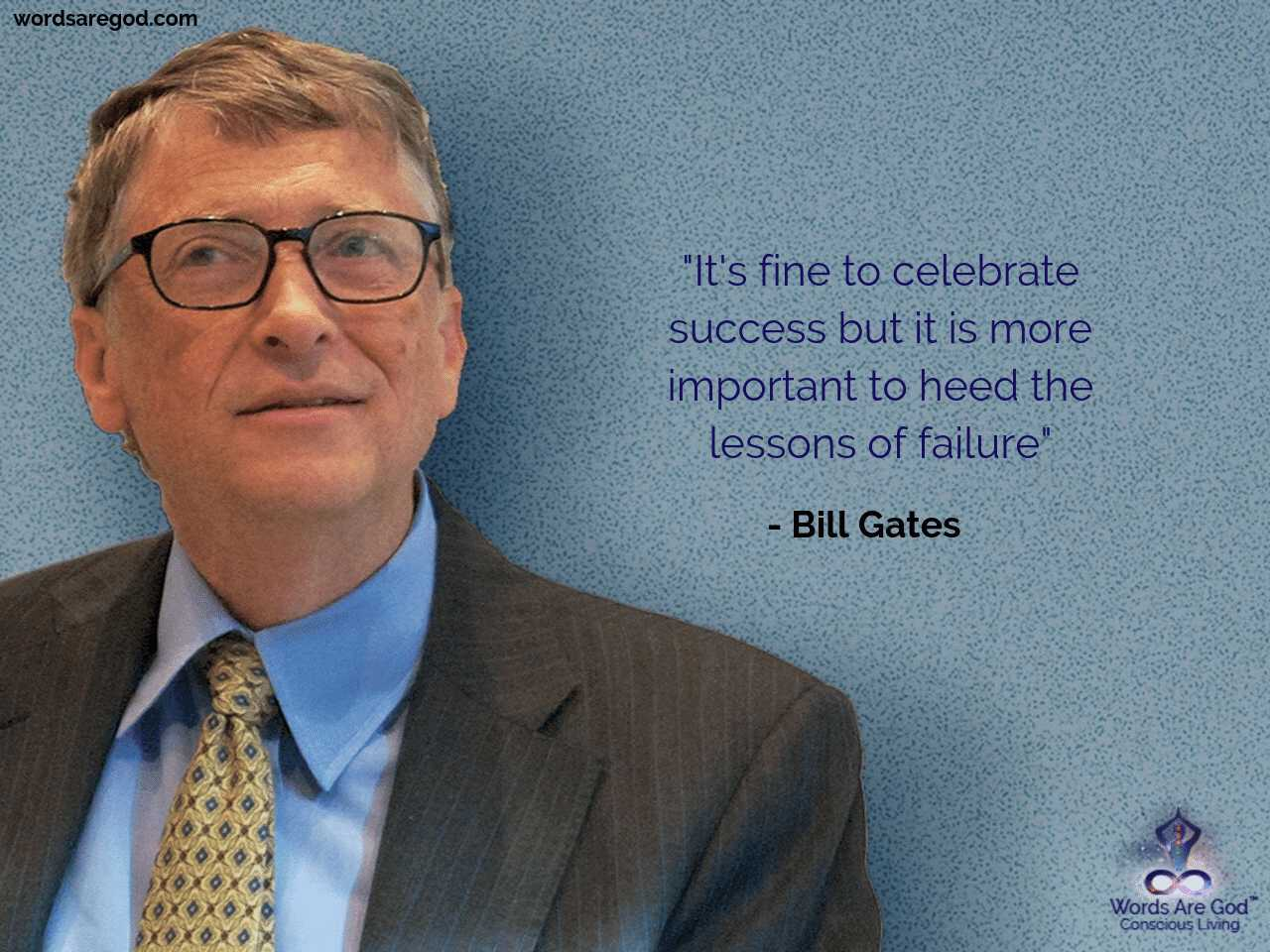 Bill Gates Motivational quote by Bill Gates