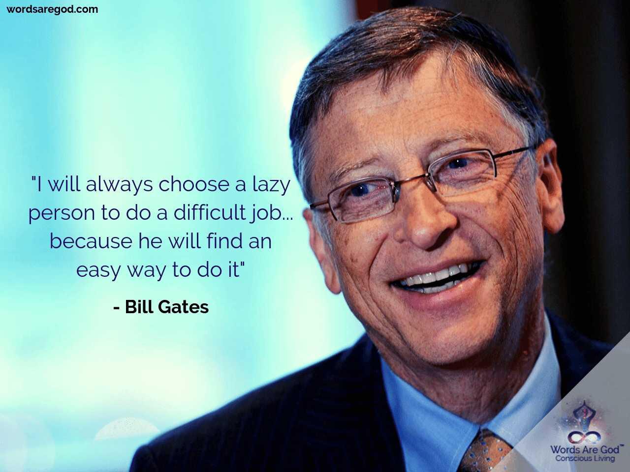Bill Gates Motivational quote
