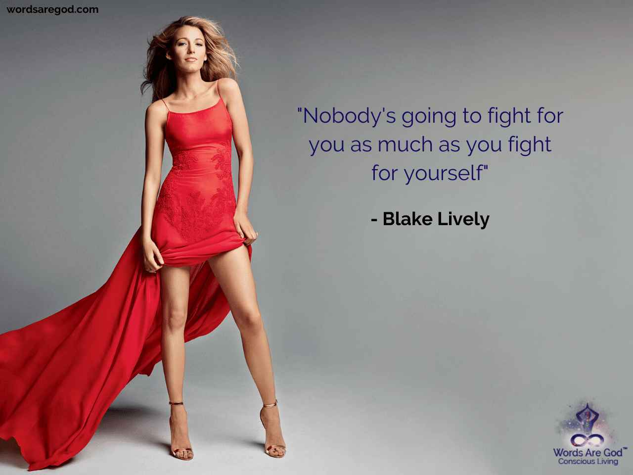 Blake Lively Inspirational Quote