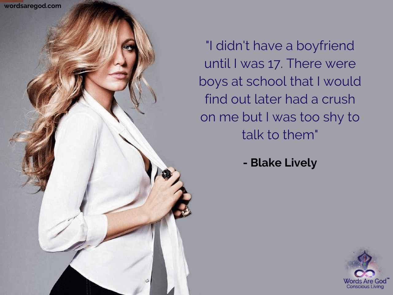 Blake Lively Motivational Quote by Blake Lively