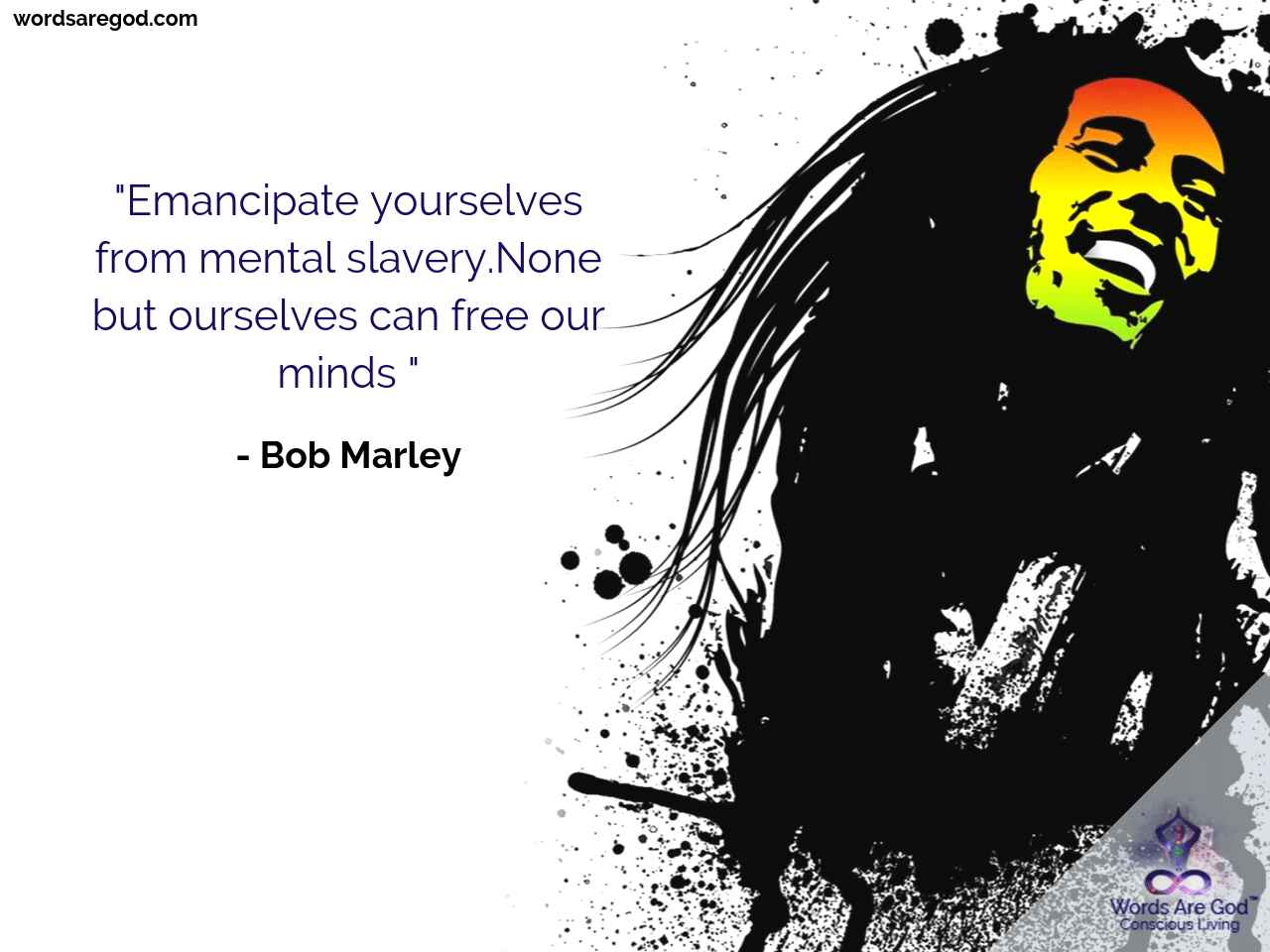 Bob Marley Inspirational Quote by Bob Marley