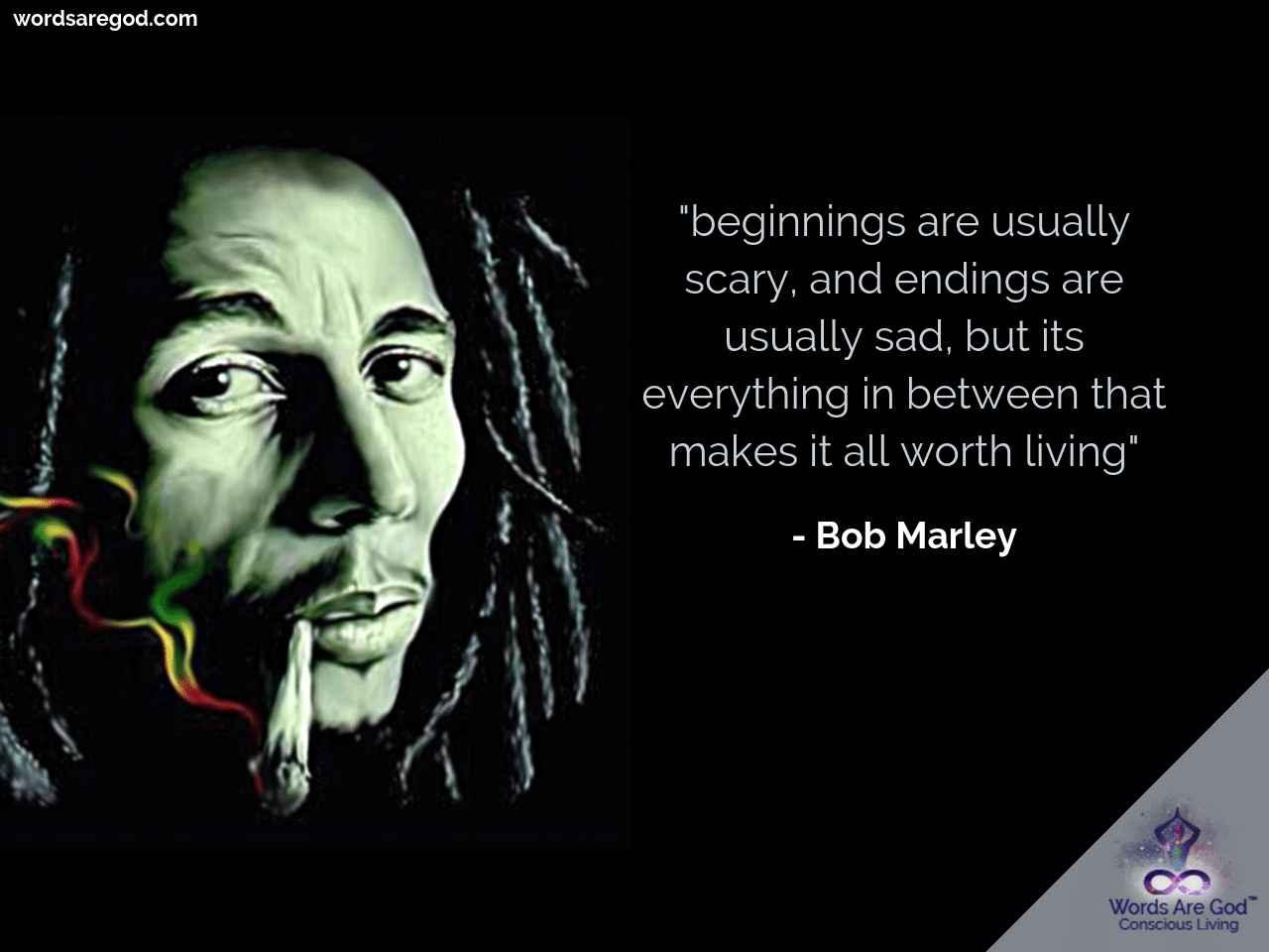 Bob Marley Life Quote