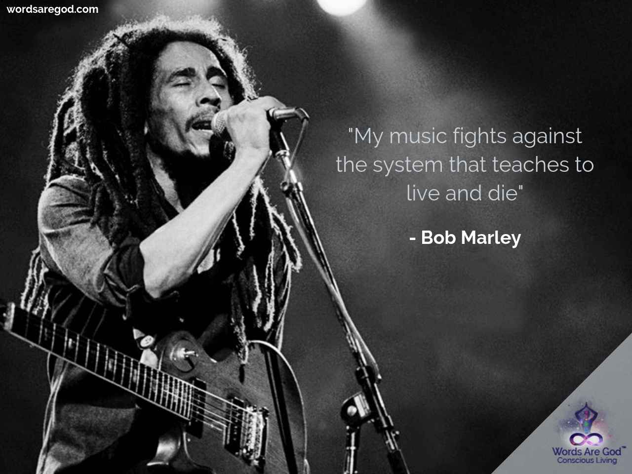 Bob Marley Motivational Quote by Bob Marley