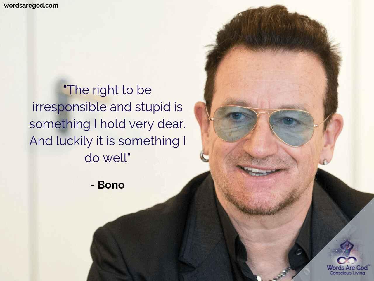 Bono Inspirational quote