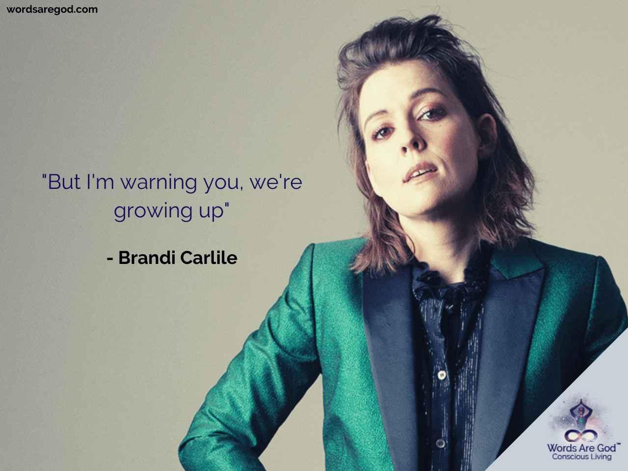 Brandi Carlile Music Quotes