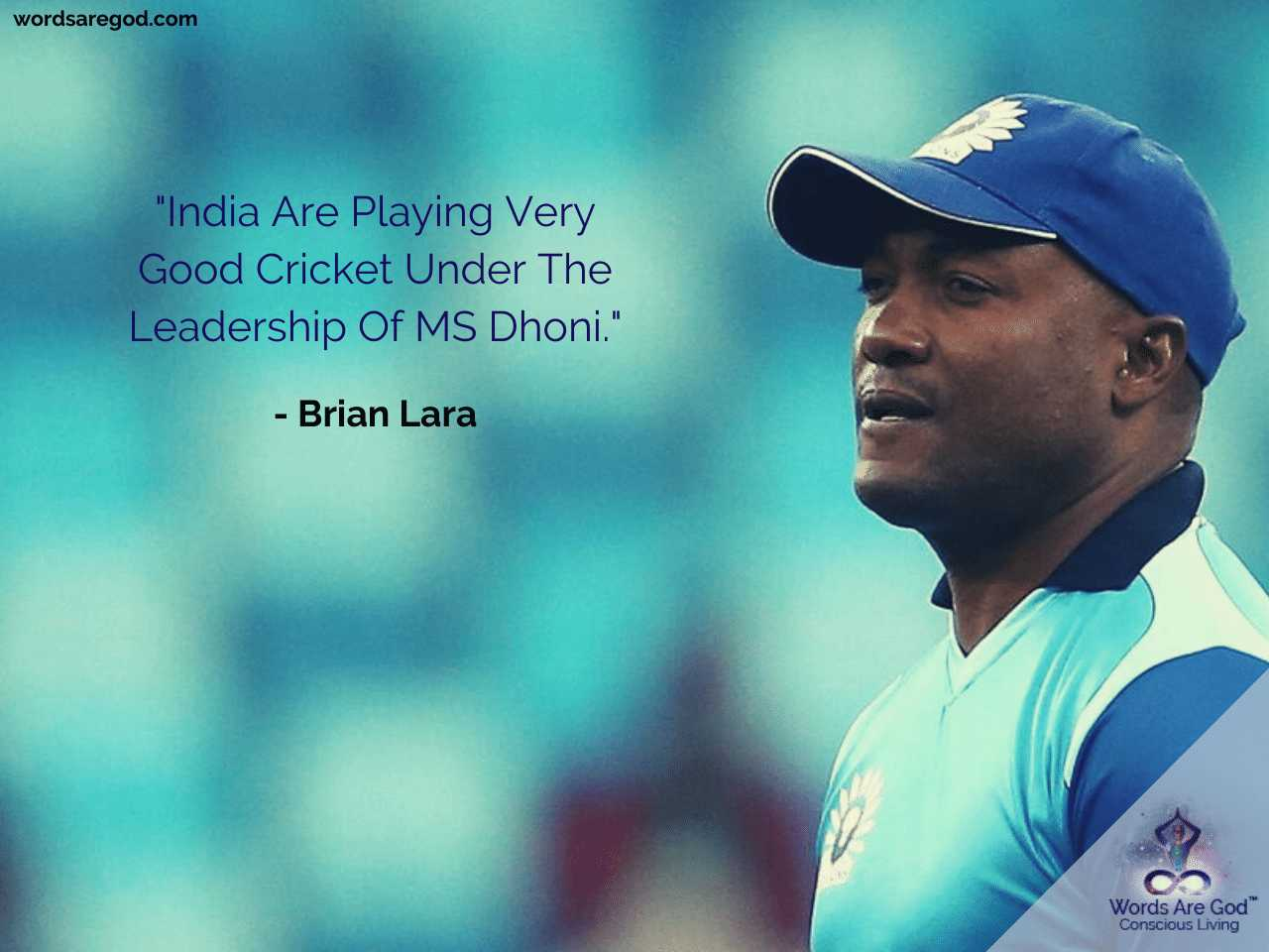 Brian Lara Quotes  Motivational Quotes  Motivational Quotes Best