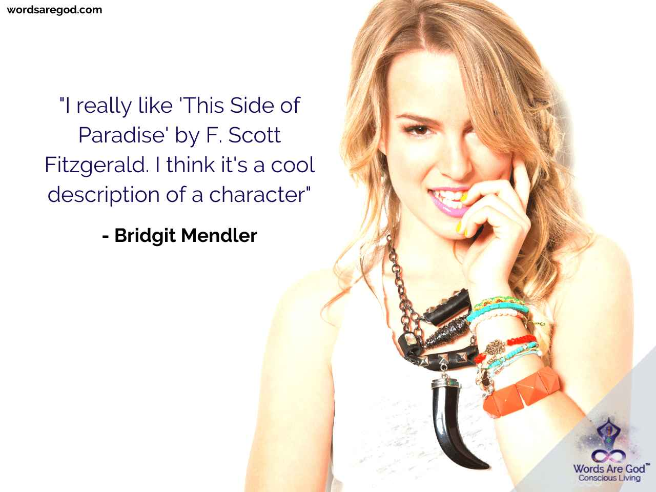 Bridgit Mendler Inspirational Quote