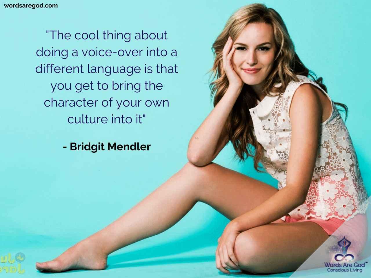 Bridgit Mendler Music Quote