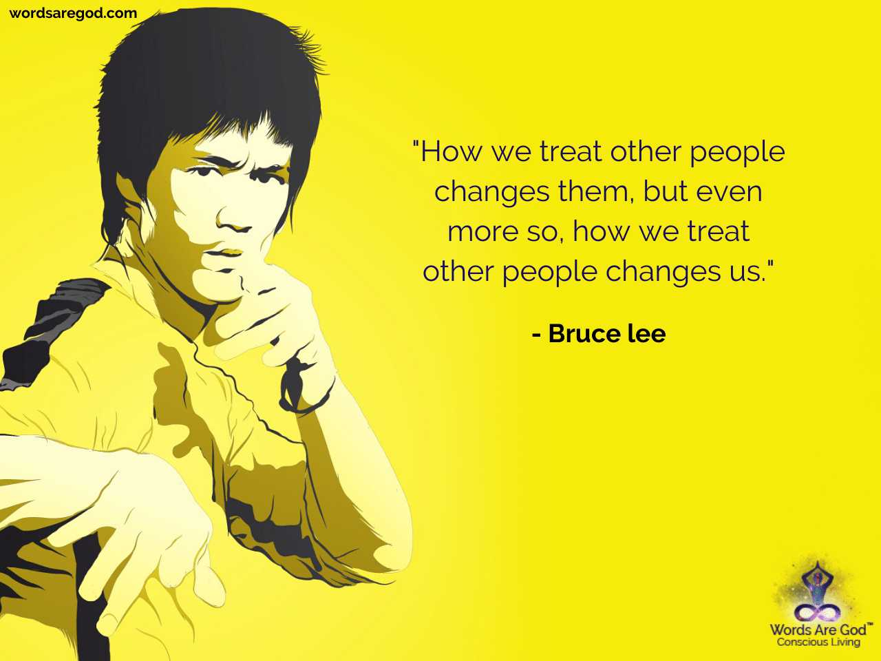 Bruce Lee Inspirational Quote by Bruce lee