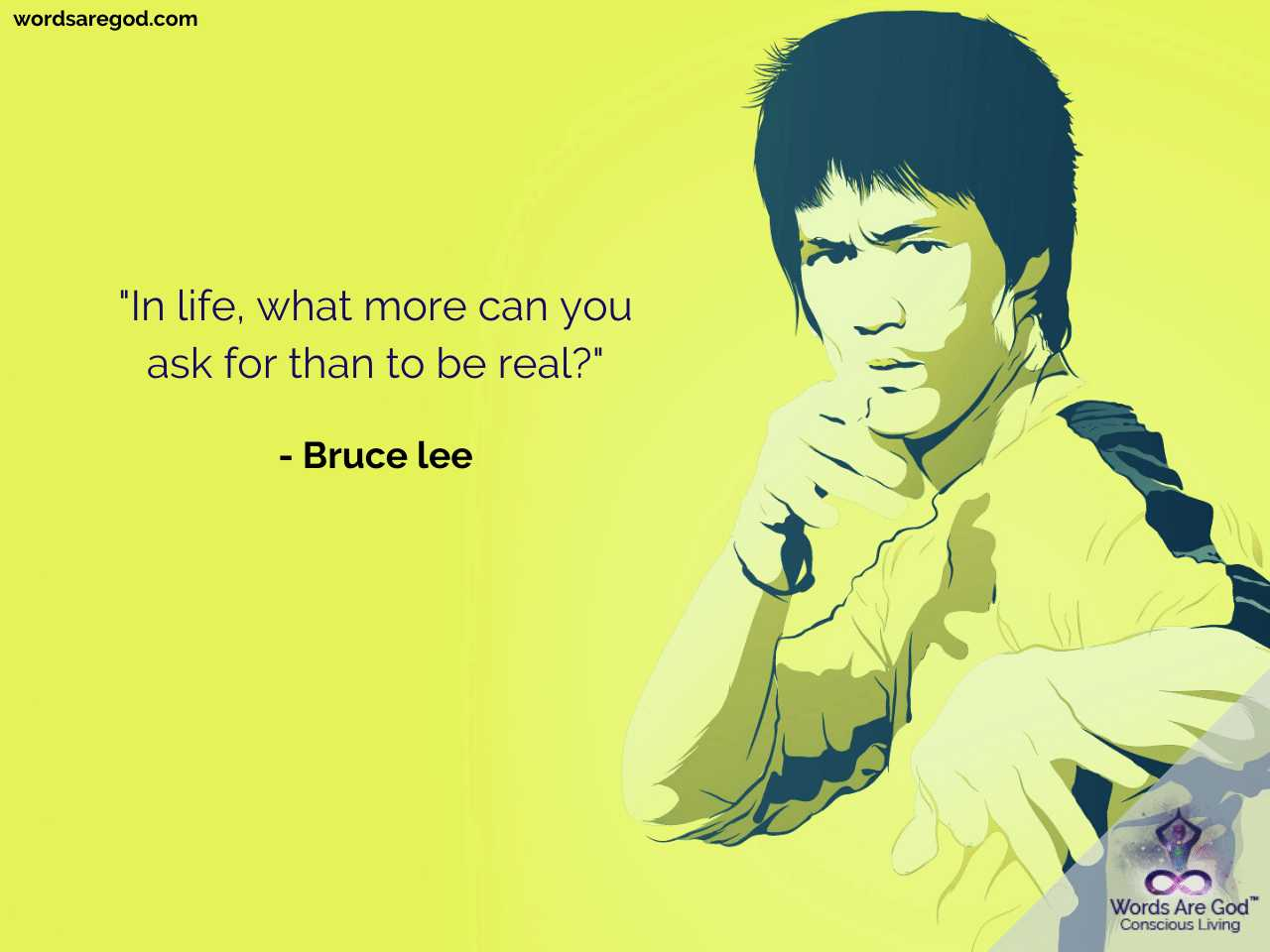 Bruce Lee Inspirational Quote