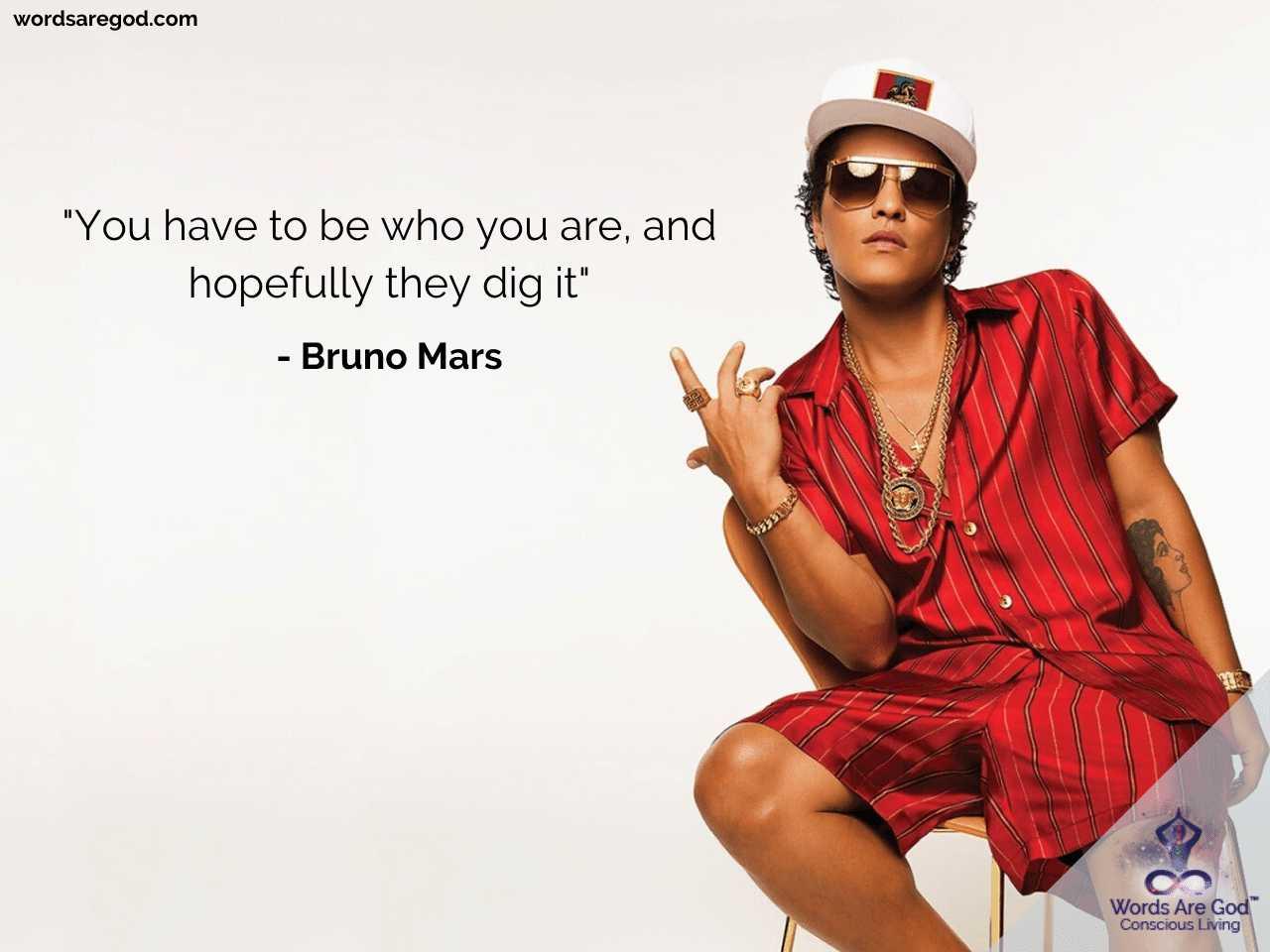 Bruno Mars Best Quote