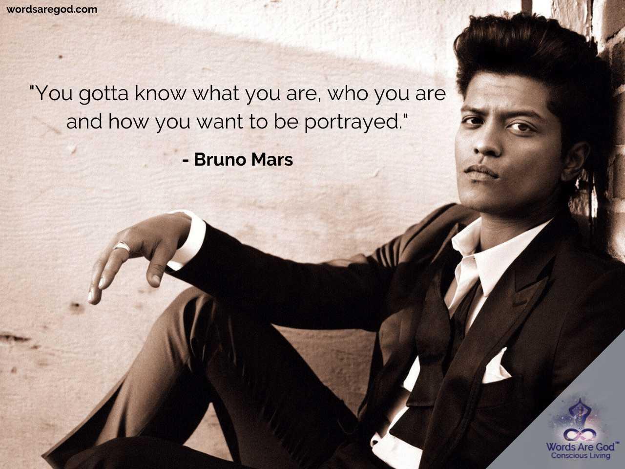 Bruno Mars Life Quote