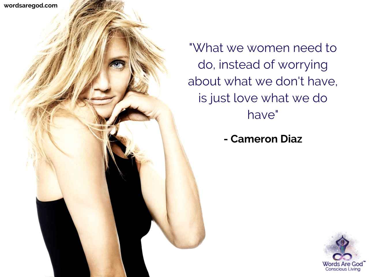 Cameron Diaz Best Quote