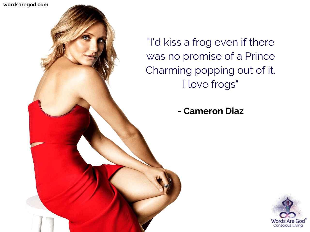 Cameron Diaz Life Quote