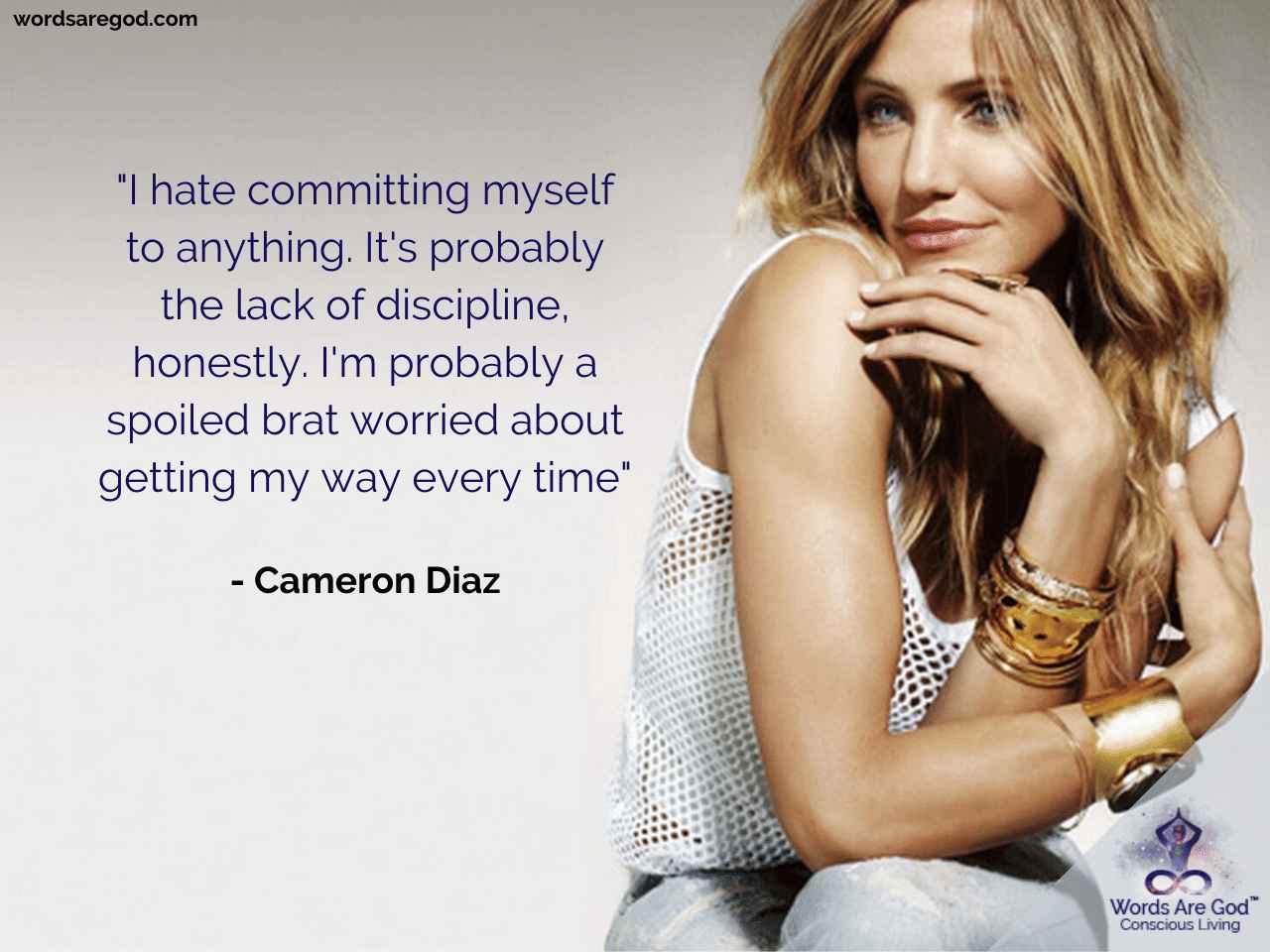 Cameron Diaz Love Quote by Cameron Diaz