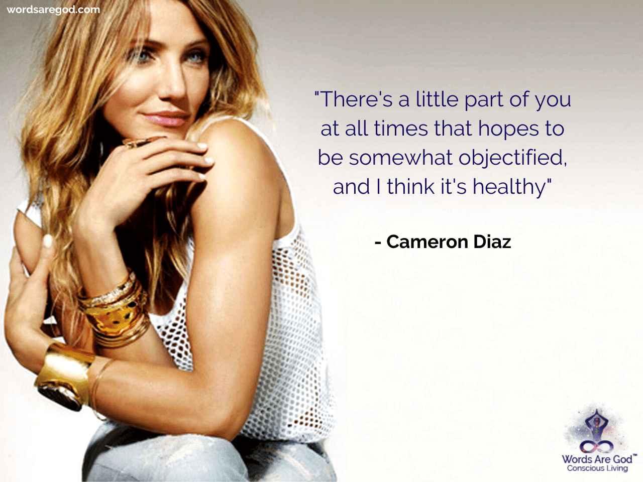 Cameron Diaz Romantic Quote