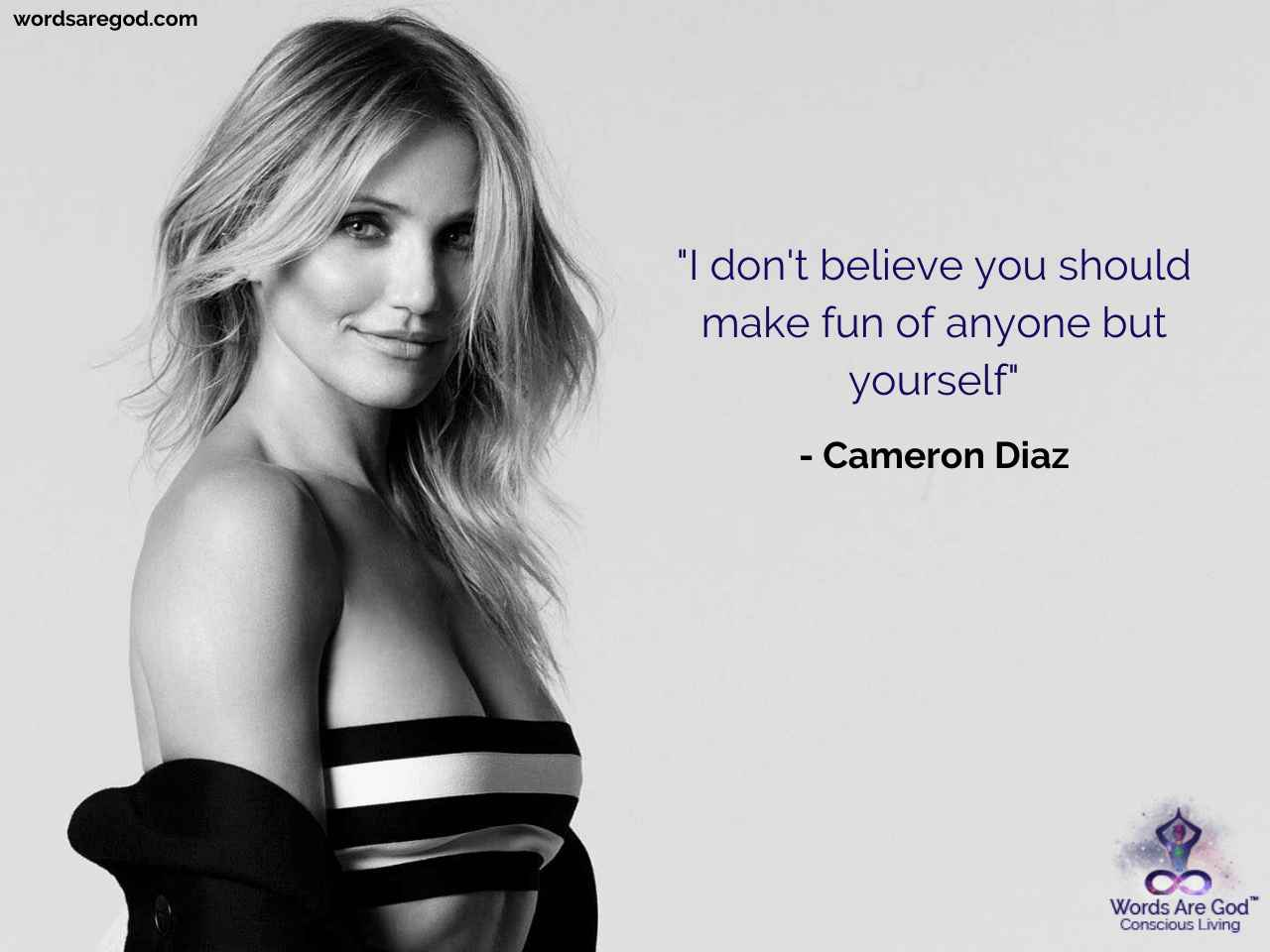 Cameron Diaz Romantic Quote
