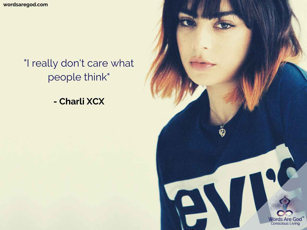 Charli XCX Motivational Quote