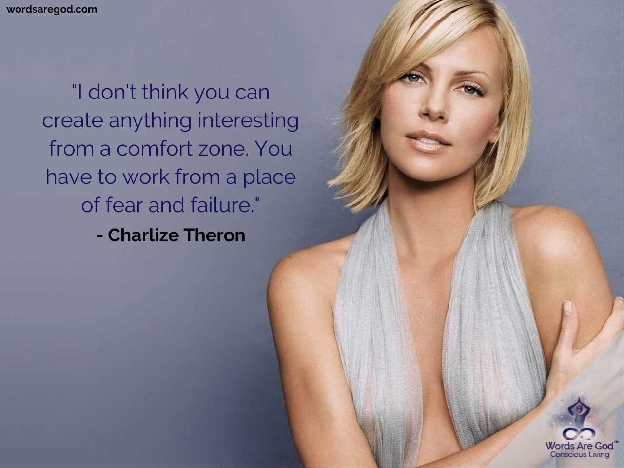 Charlize Theron Best Quotes by Charlize Theron