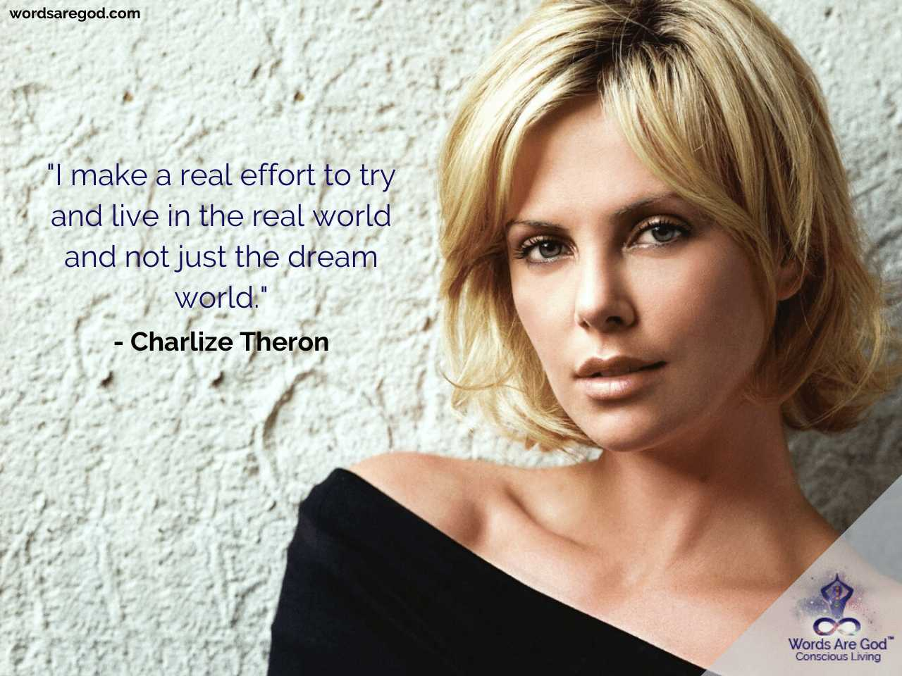 Charlize Theron Life Quotes