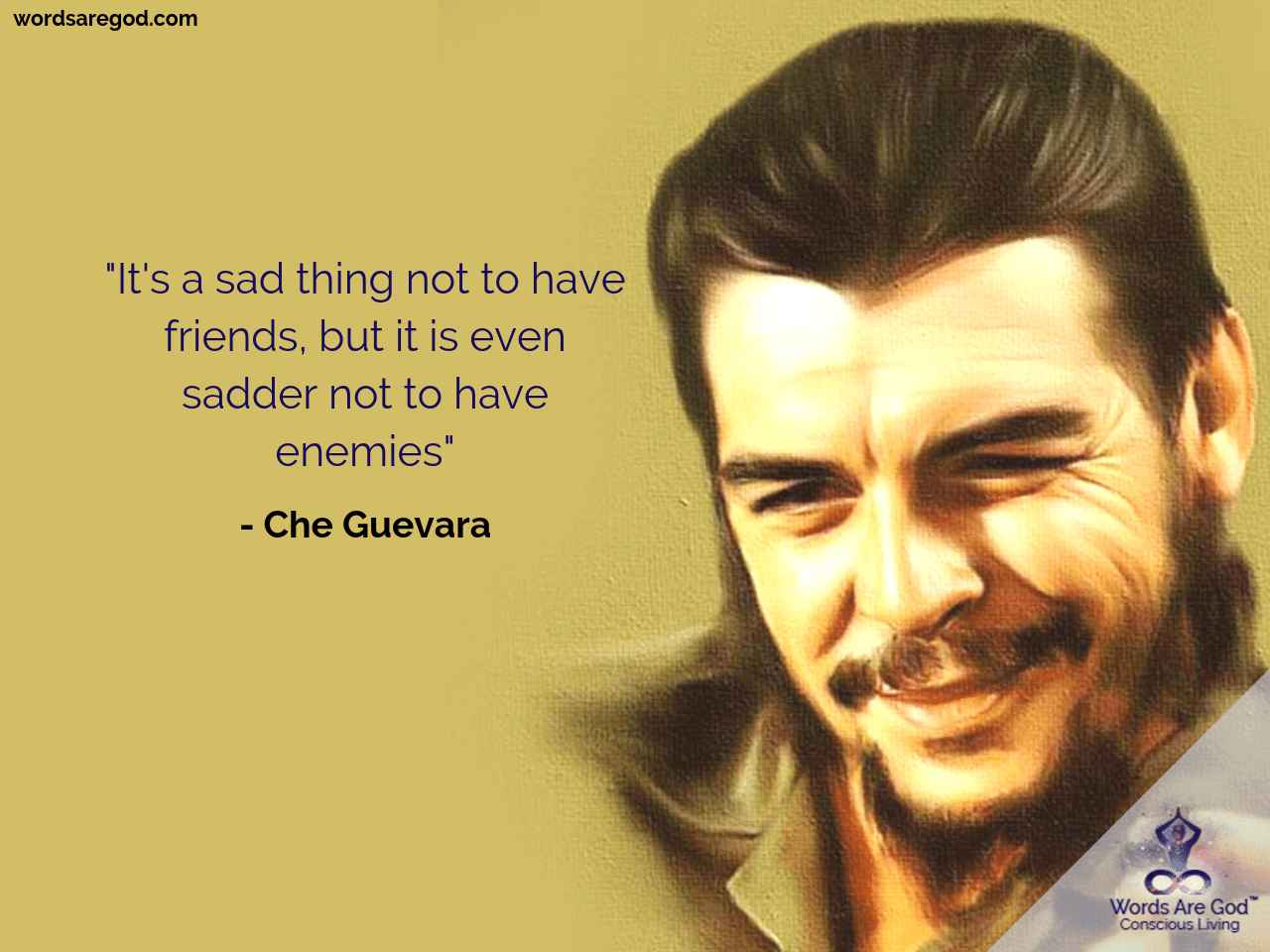 Che Guevara Motivational Quote by Che Guevara